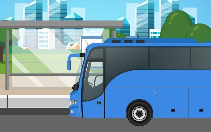 Layanan bus